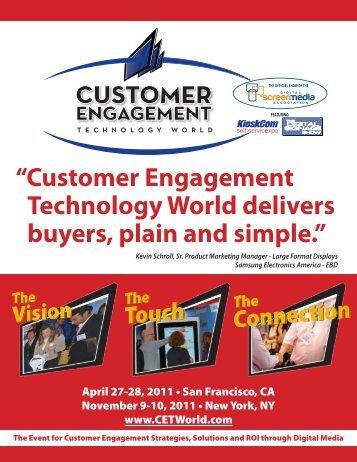 """Customer Engagement Technology World delivers ... - JD Events"