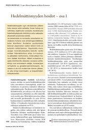 Hedelmättömyyden hoidot - osa I.pdf - Väestöliitto