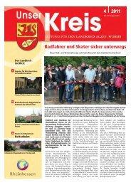 Radfahrer und Skater sicher unterwegs 4 2011 - Landkreis Alzey ...
