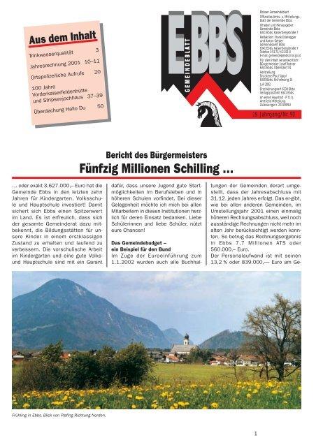 Veranstaltungen - Haus Seeblick in Thiersee