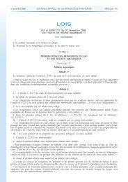 La loi du 30 décembre 2006 sur l'Eau et les Milieux Aquatiques