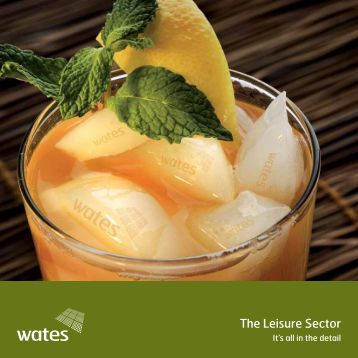 The Leisure Sector - Wates