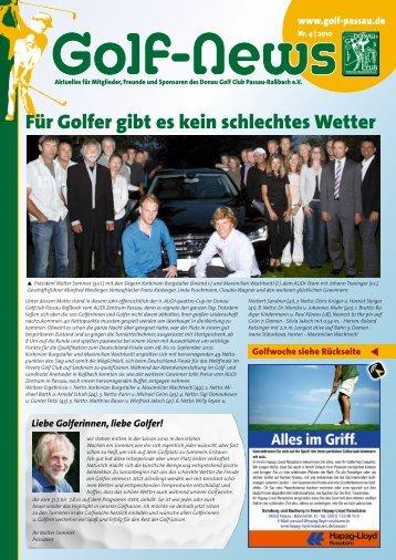 Für Golfer gibt es kein schlechtes Wetter - Donau Golf Club Passau ...