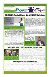 Vol. 5 No.2, Jul — Dec 2012 - Philippine Ports Authority