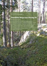 UV Rapport 2011:41 - Riksantikvarieämbetet, avdelningen för ...