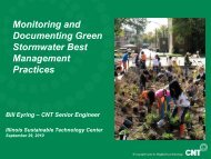 Monitoring Stormwater Best Management Practices and ...