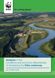 Analysis of the conditions and economic effectiveness of ... - WWF