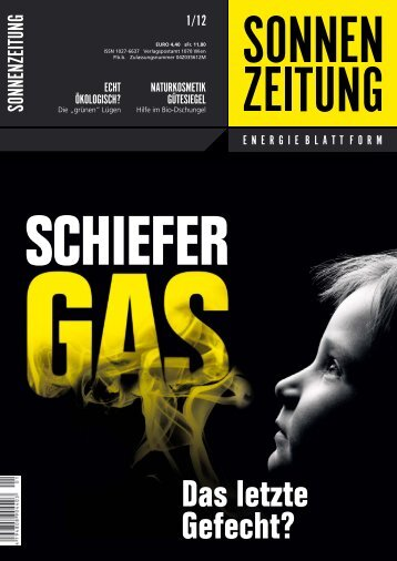 Coverstory - Sonnenzeitung