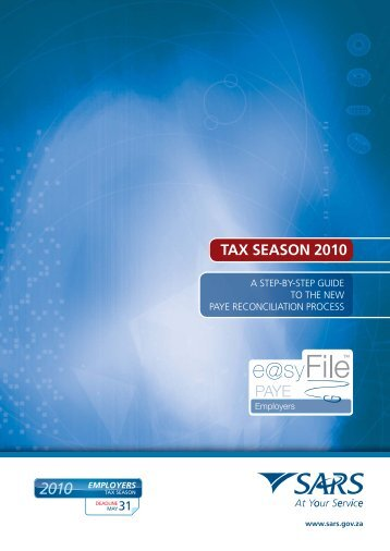 e@syFile Employer software guide v3.indd - Sage VIP Payroll