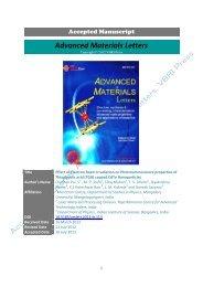 Effect of Electron Beam Irradiation on Photoluminescence properties ...