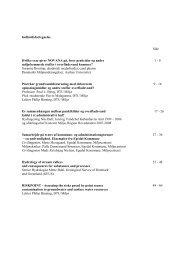Samlet rapport i pdf - ATV - Jord og Grundvand
