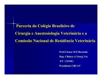 Profa. Cleuza Maria de Faria Resende - CFMV