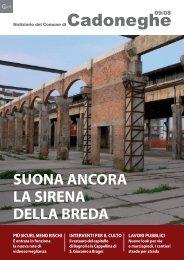 09/08 Suona ancora la sirena della Breda - Comune di Cadoneghe