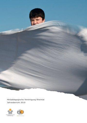 Jahresbericht 2010 - Heilpädagogische Schule Heerbrugg