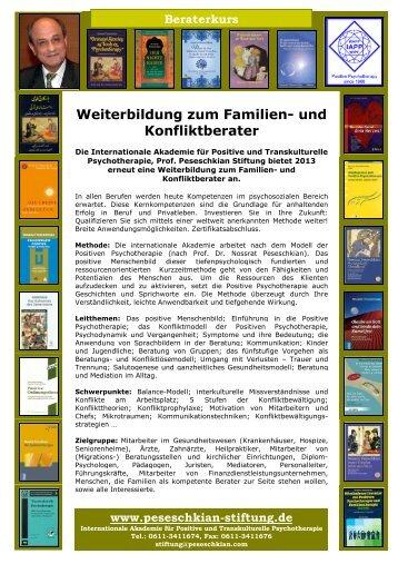 Weiterbildung zum Familien - Peseschkian-Stiftung