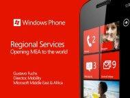 Regional Services - Qualcomm Developer Network