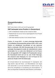 DAF behauptet seine Position in Deutschland - OTEMA GmbH