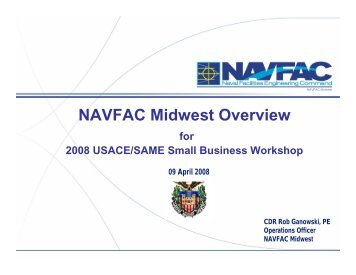 NAVFAC Midwest Overview - SAME Detroit Post