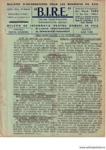 BIRE NR. 231 - arhivaexilului.ro