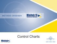 Method Chooser: Control Charts - ASQ-1302