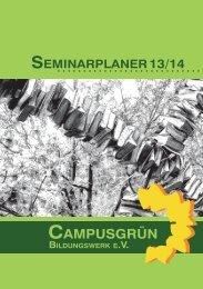 2013-11-09 Seminarplaner-final - Bildungswerk Campusgrün eV