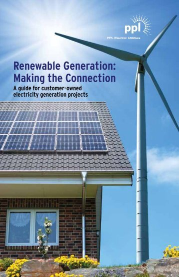 Renewable energy options - PPL Electric Utilities