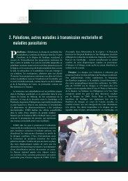 2. Paludisme, autres maladies à transmission vectorielle et maladies ...