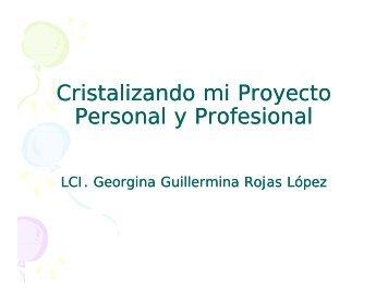 Cristalizando mi Proyecto Personal y Profesional
