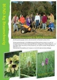 Beispiele von Biotopschutzeinsätzen 2006 - BUND Kreisgruppe ...