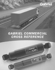Gabriel XREF Fleet Solutions