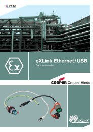 eXLink Ethernet / USB - Safeexit A/S