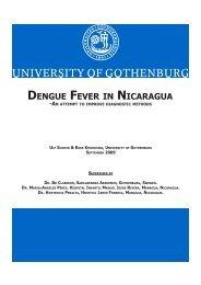 dengue fever in nicaragua - Revista de Medicina Interna de AMICAC