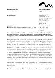 Medienmittelung - Zentrum Paul Klee
