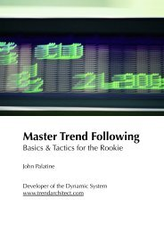Master Trend Following - Dimensionetrading.com