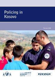 Policing in Kosovo - Saferworld