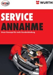 Serviceannahme - Würth
