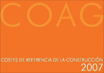 WEB COSTES DE REFERENCIA 2007.. - Colegio Oficial de ...