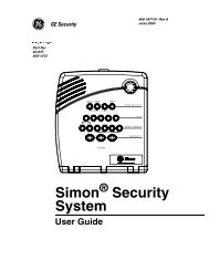 Simon Security System - Interlogix
