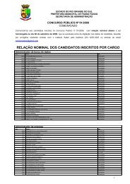 EDITAL DE CONCURSO PÚBLICO Nº 02/01/2006 - Prefeitura ...