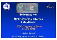 PEG-Tagung in Bonn 8. Mai 2004
