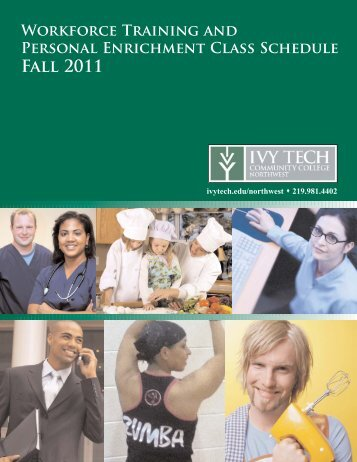 Workforce Training and Personal Enrichment Class Schedule Fall ...