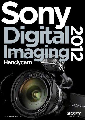 Handycam Product Brochure 2012 - Sony New Zealand