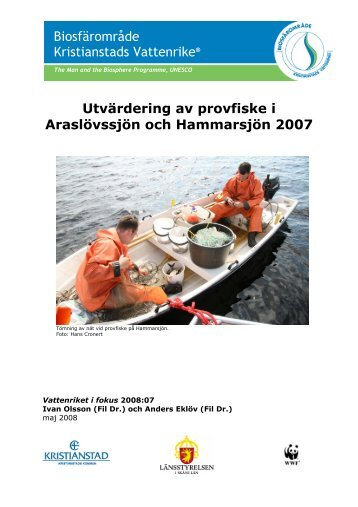 Ladda ner rapporten (0,5 mb) - Kristianstads Vattenrike