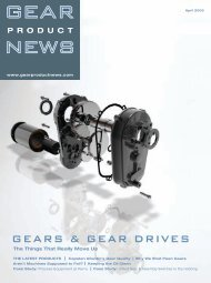 April 2005 - Gear Product News