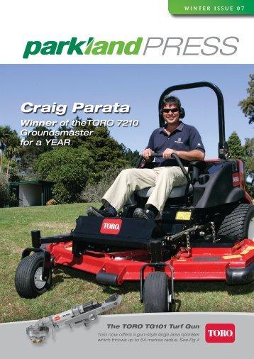 Craig Parata - Parkland Products