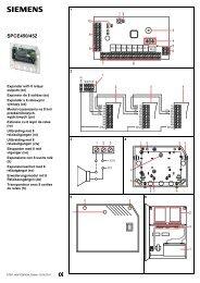 SPCE450/452 - Simon Technologies