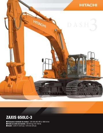 ZAXIS 650LC-3 - Hitachi