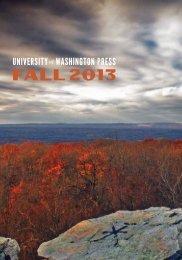 Fall 2013 Catalog - University of Washington