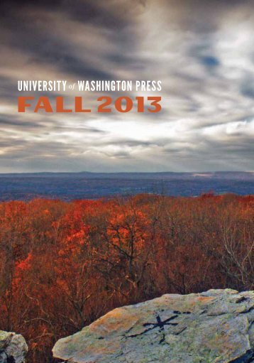 Fall 2013 Catalog - University of Washington