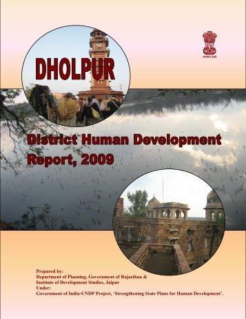 Dholpur - Directorate of Economics & Statistics - Government of ...